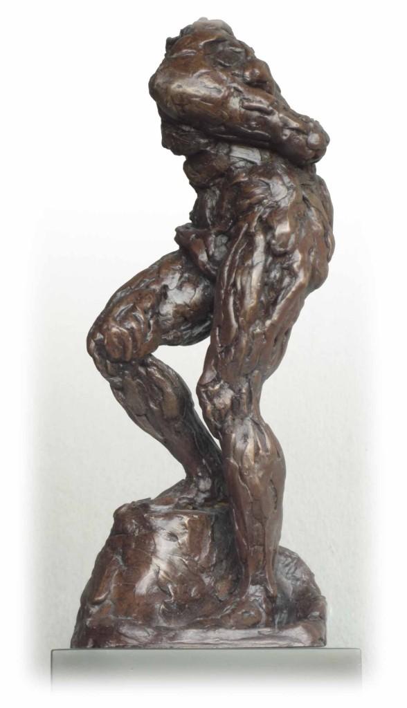 Figure Study Bronze Resin