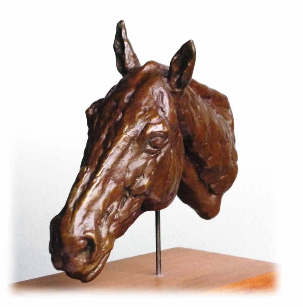 Horse's Head Bronze
