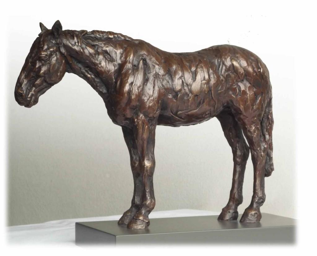 Standing Horse II Bronze Resin